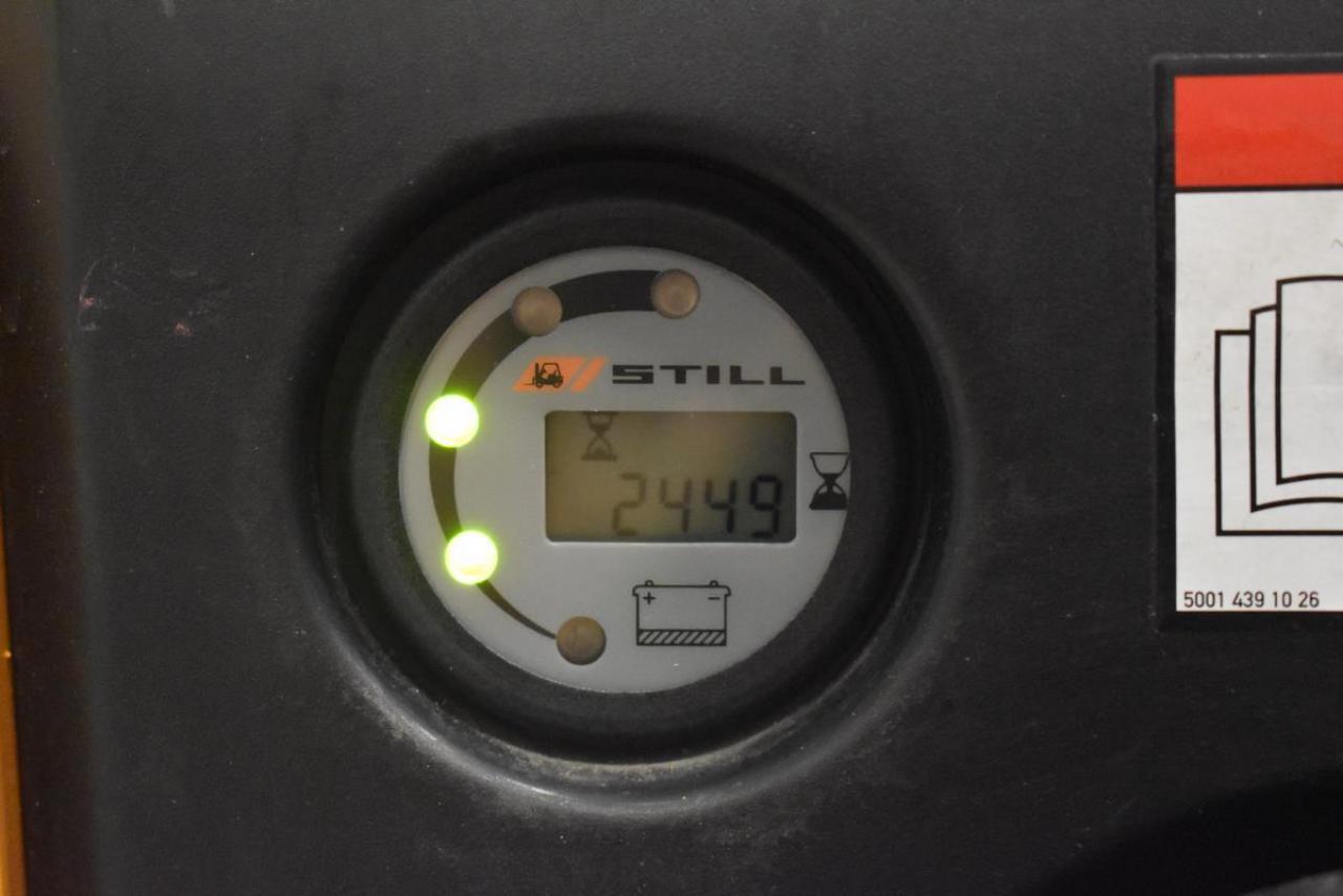 23664 STILL EGV 14 - AKU, 2010, pouze 2449 mth, BAT 2014