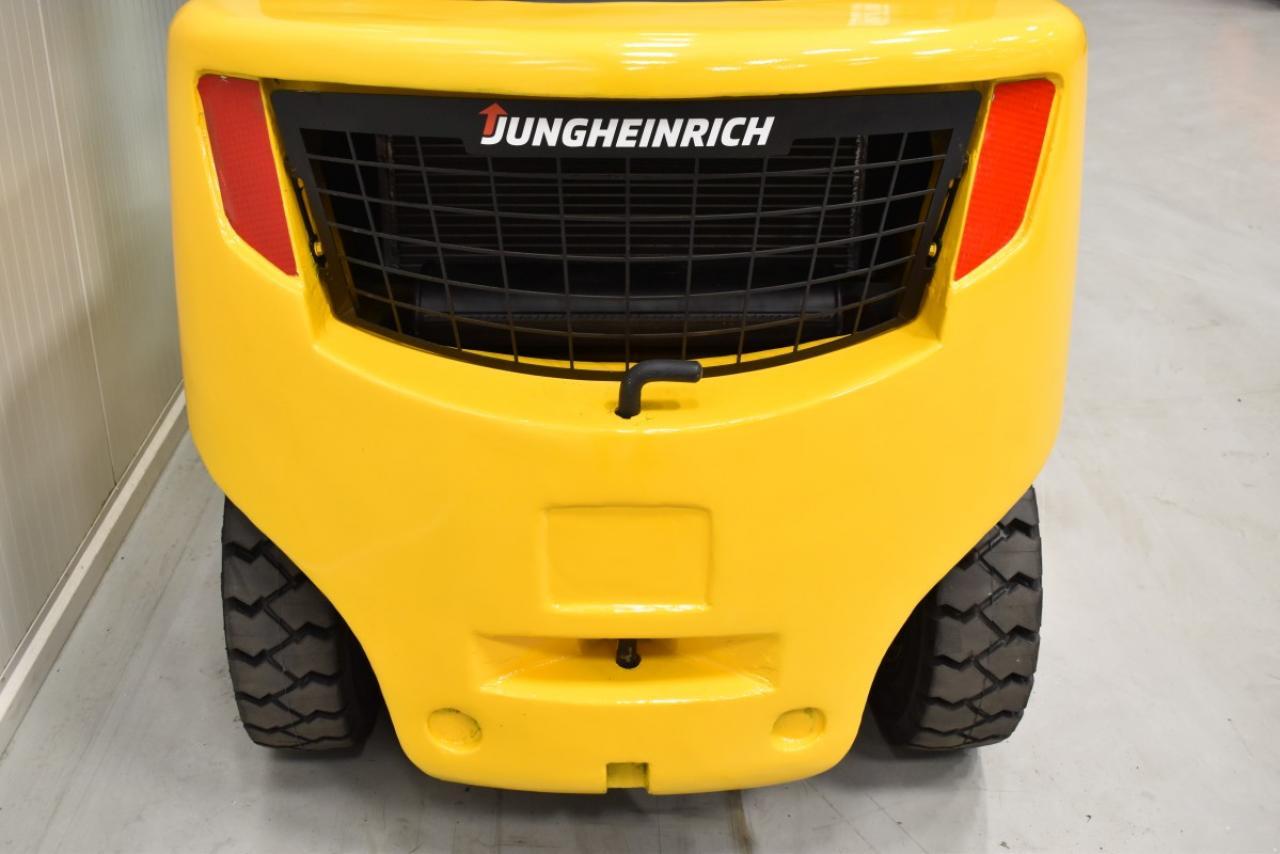 25854 JUNGHEINRICH DFG 435 S - Diesel, 2012, polokabina, BP