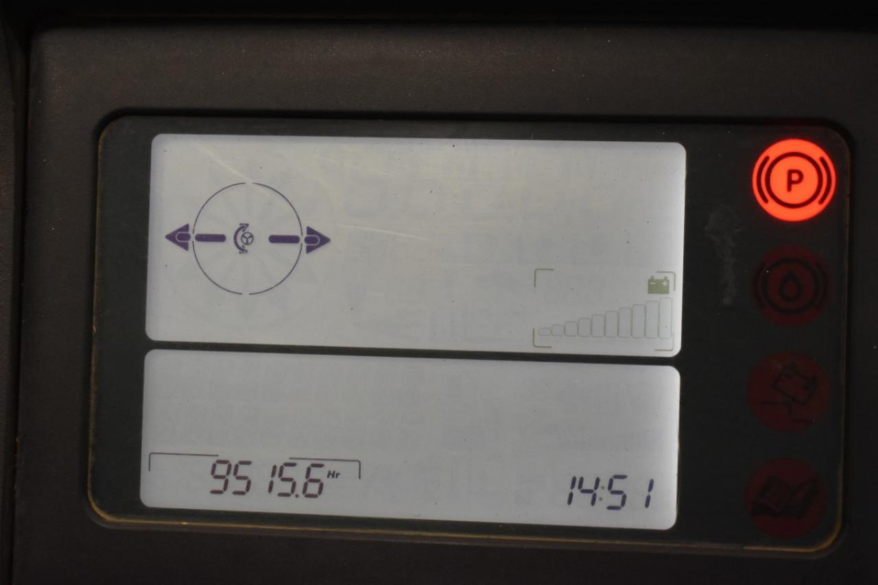 26152 LINDE R 14 G-03 - AKU, Retrak, 2008, BP, volný zdvih, Triplex