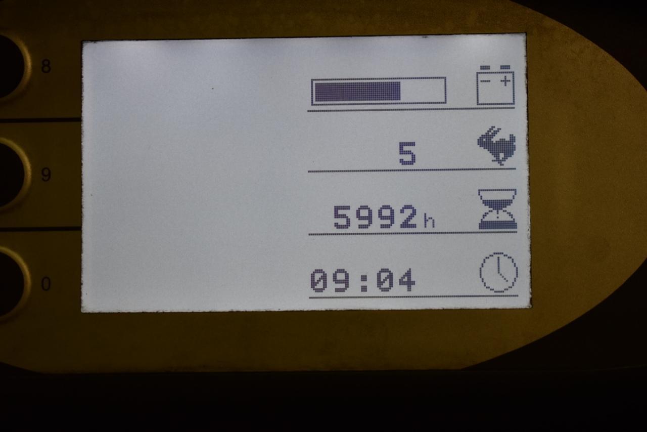27215 STILL RX 60-16 - AKU, 2014, BP, volný zdvih, Triplex, pouze 5992 mth