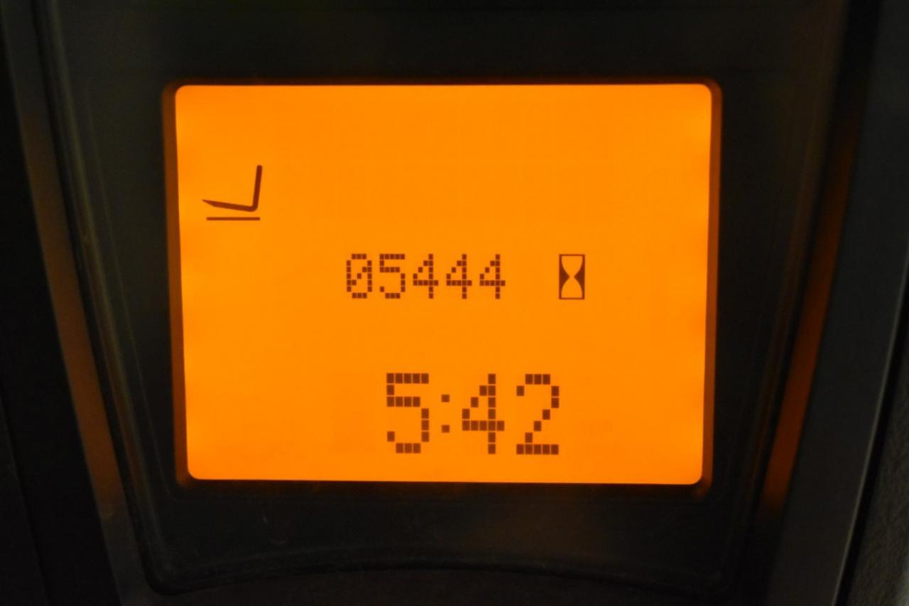 27538 LINDE E 14-01 - AKU, 2009, BP, volný zdvih, Triplex, pouze 5441 mth