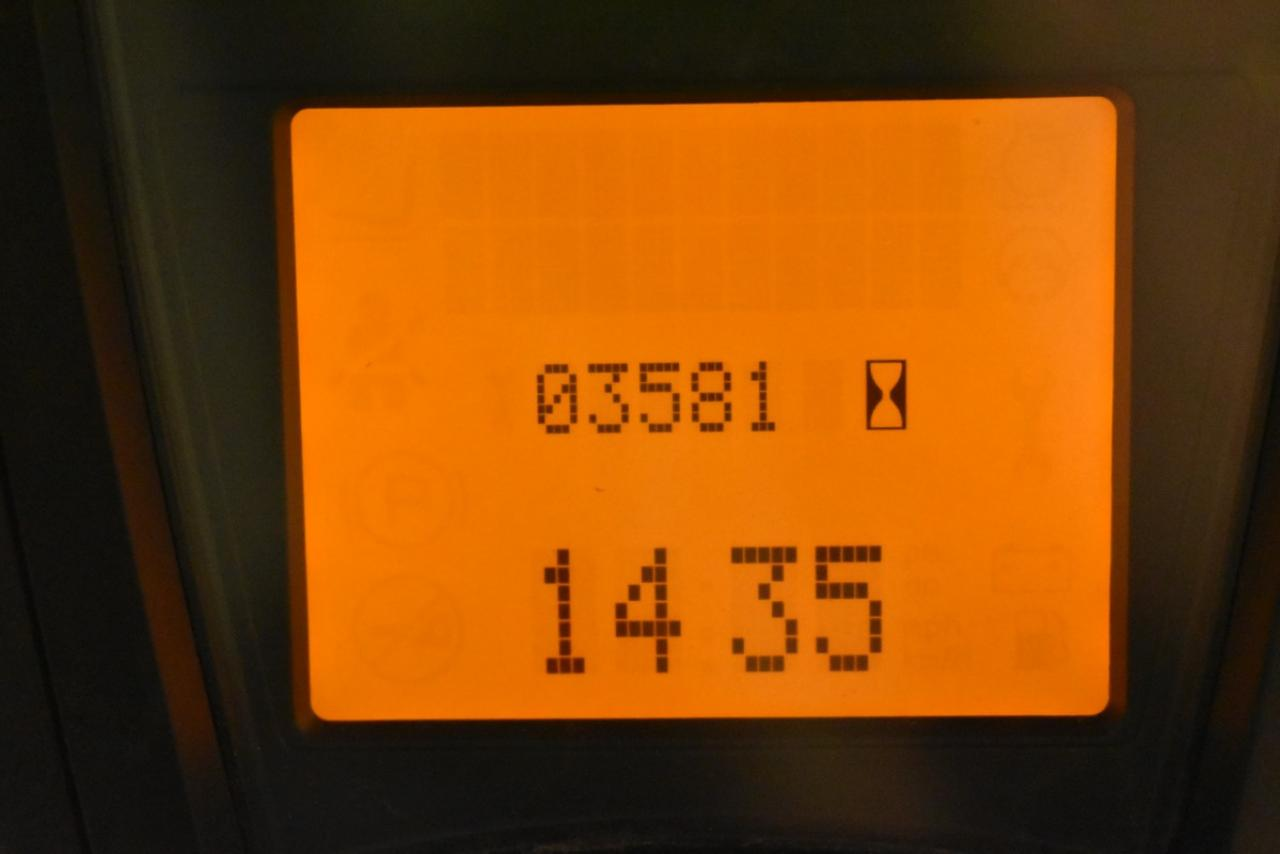 27833 LINDE E 16 C-01 - AKU, 2012, polokabina, BP, pouze 3578 mth, BAT 2013