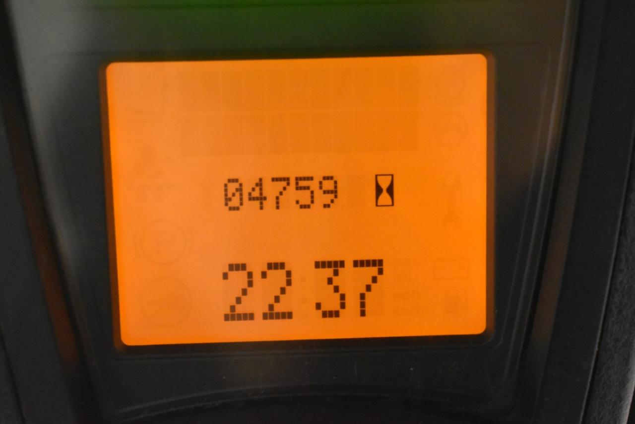 27834 LINDE E 16 P-01 - AKU, 2012, BP, volný zdvih, Triplex, pouze 4759 mth