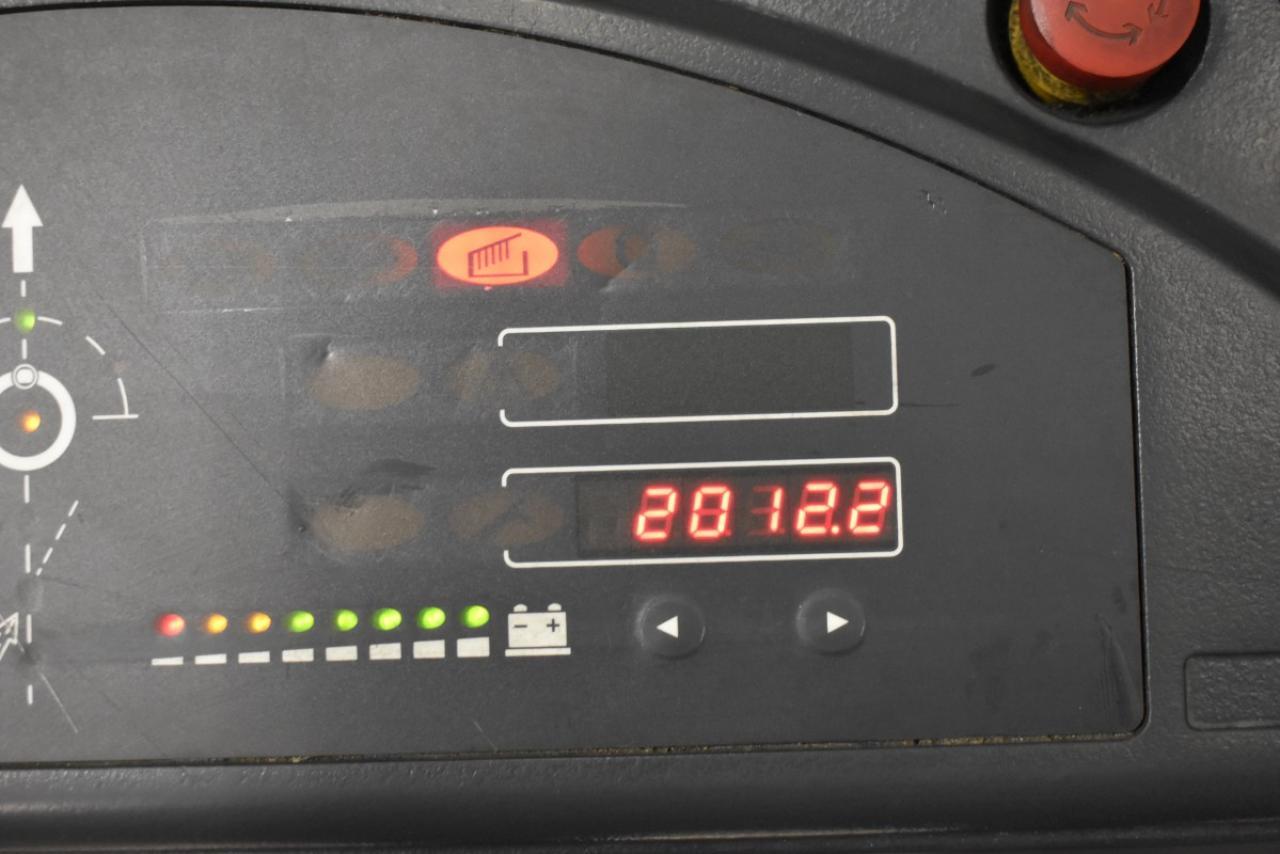 27863 LINDE V 12 - AKU, 2008, volný zdvih, Triplex, pouze 2012 mth