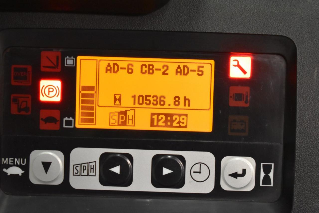 28062 TOYOTA 8FBET16 - AKU, 2011, polokabina, BP, volný zdvih