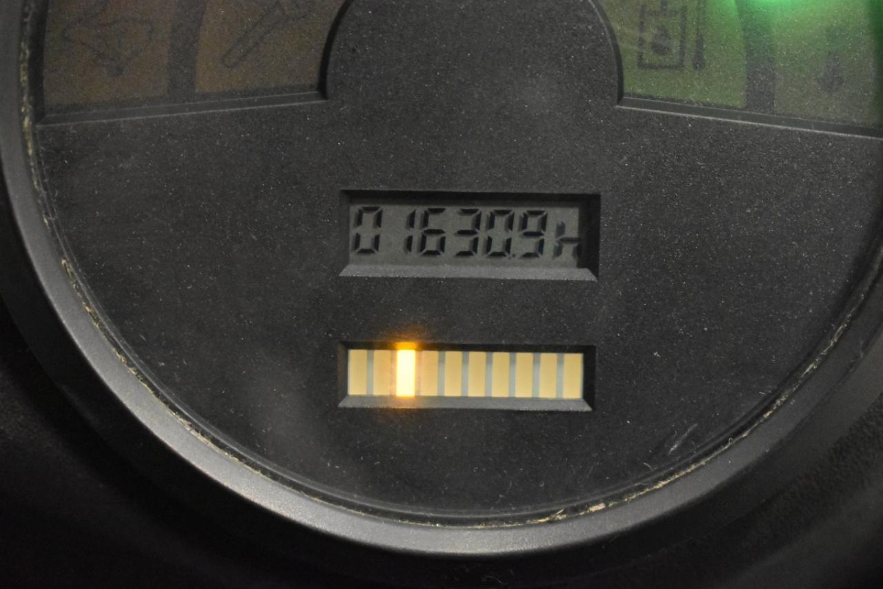 28077 LINDE E 16 C-02 - AKU, 2001, BP, volný zdvih, Triplex, pouze 1630 mth