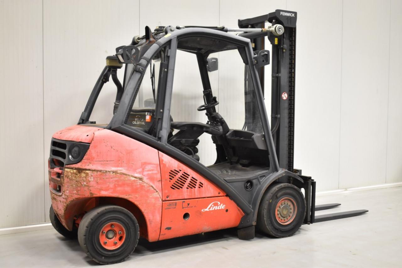 28082 LINDE H 30 D - Diesel, 2007, polokabina
