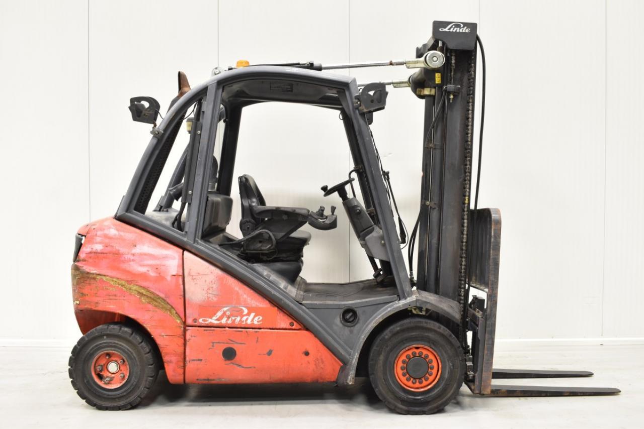 28097 LINDE H 30 D - Diesel, 2006, polokabina, BP