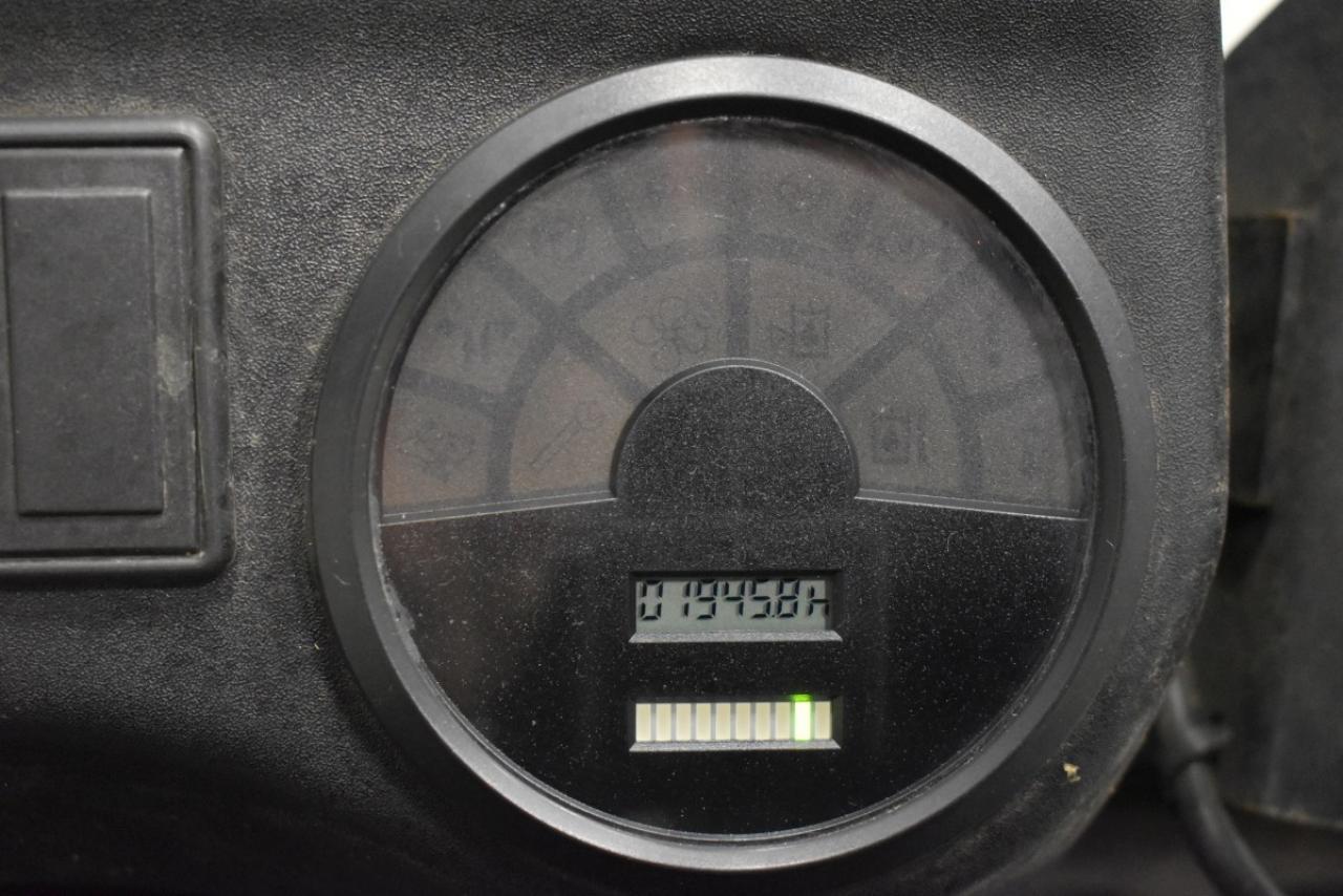 28102 LINDE E 14-02 - AKU, 2006, BP, volný zdvih, Triplex, pouze 1946 mth
