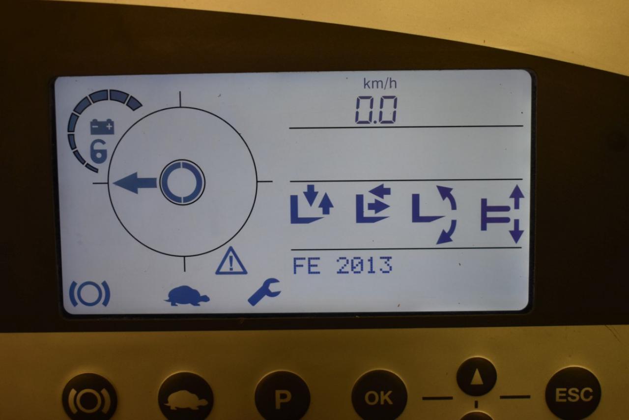 28252 STILL FM-X 14 - AKU, Retrak, 2013, BP, volný zdvih, Triplex, pouze 5951 mth