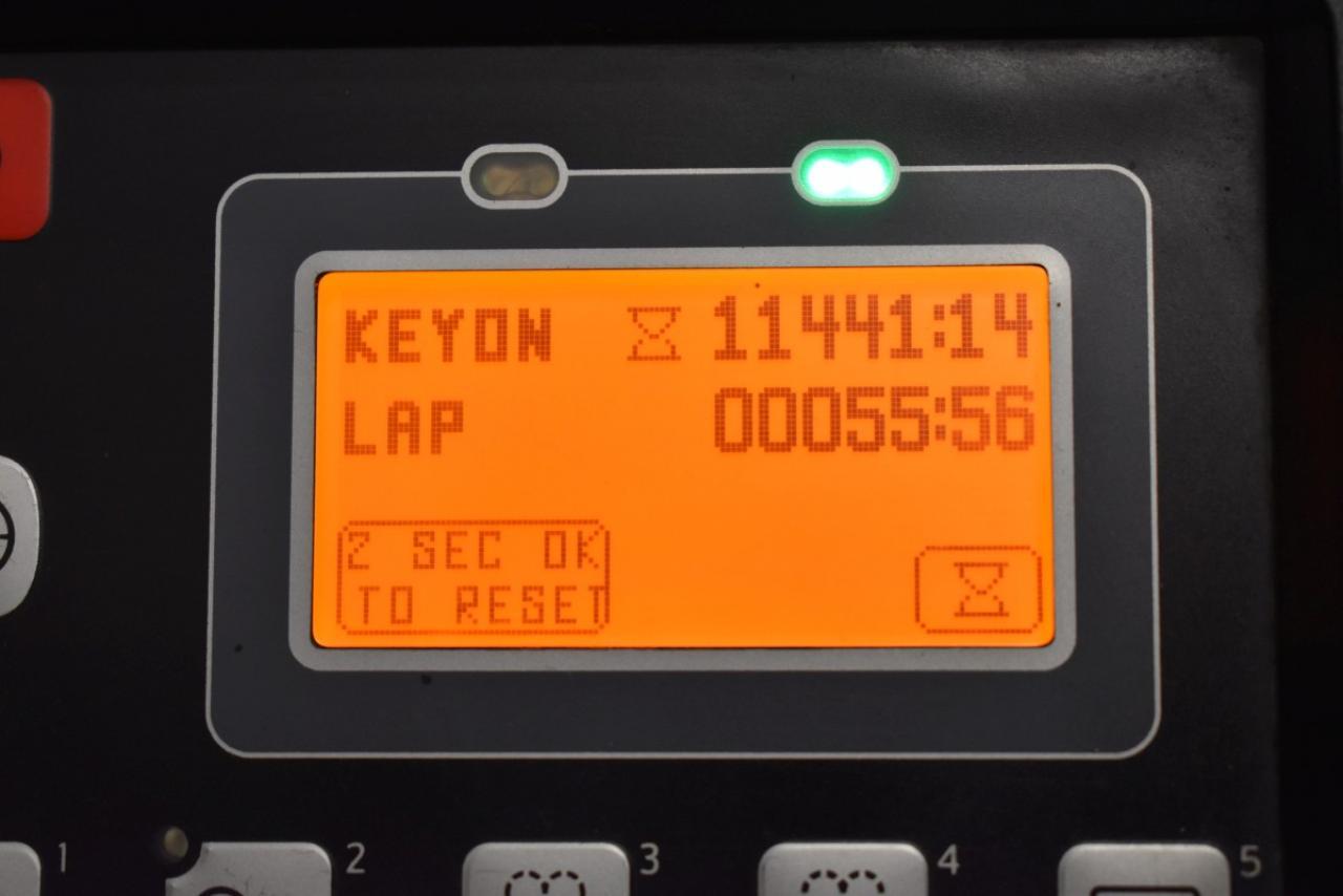 28295 TOYOTA 8FBMKT20 - AKU, 2014, BP, volný zdvih