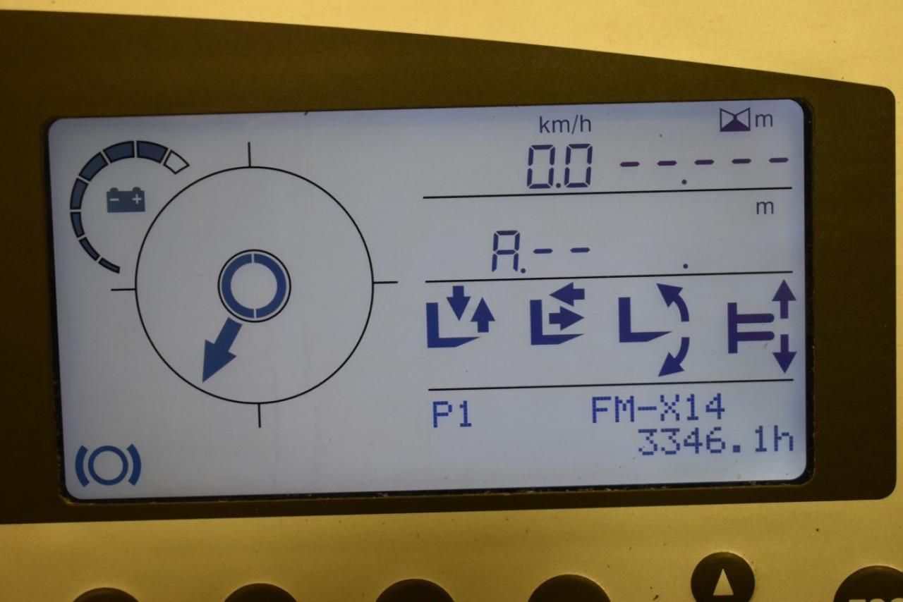28617 STILL FM-X 14 - AKU, Retrak, 2012, BP, volný zdvih, Triplex, pouze 3346 mth