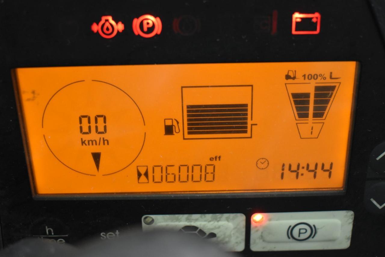 28657 JUNGHEINRICH TFG 430 S - LPG, 2013, Kabina, BP, volný zdvih, pouze 6007 mth