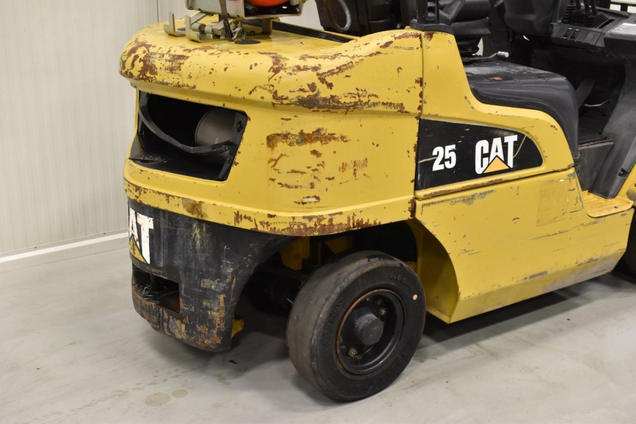 28824 CATERPILLAR GP 25 N - LPG, 2007, BP, pouze 6088 mth