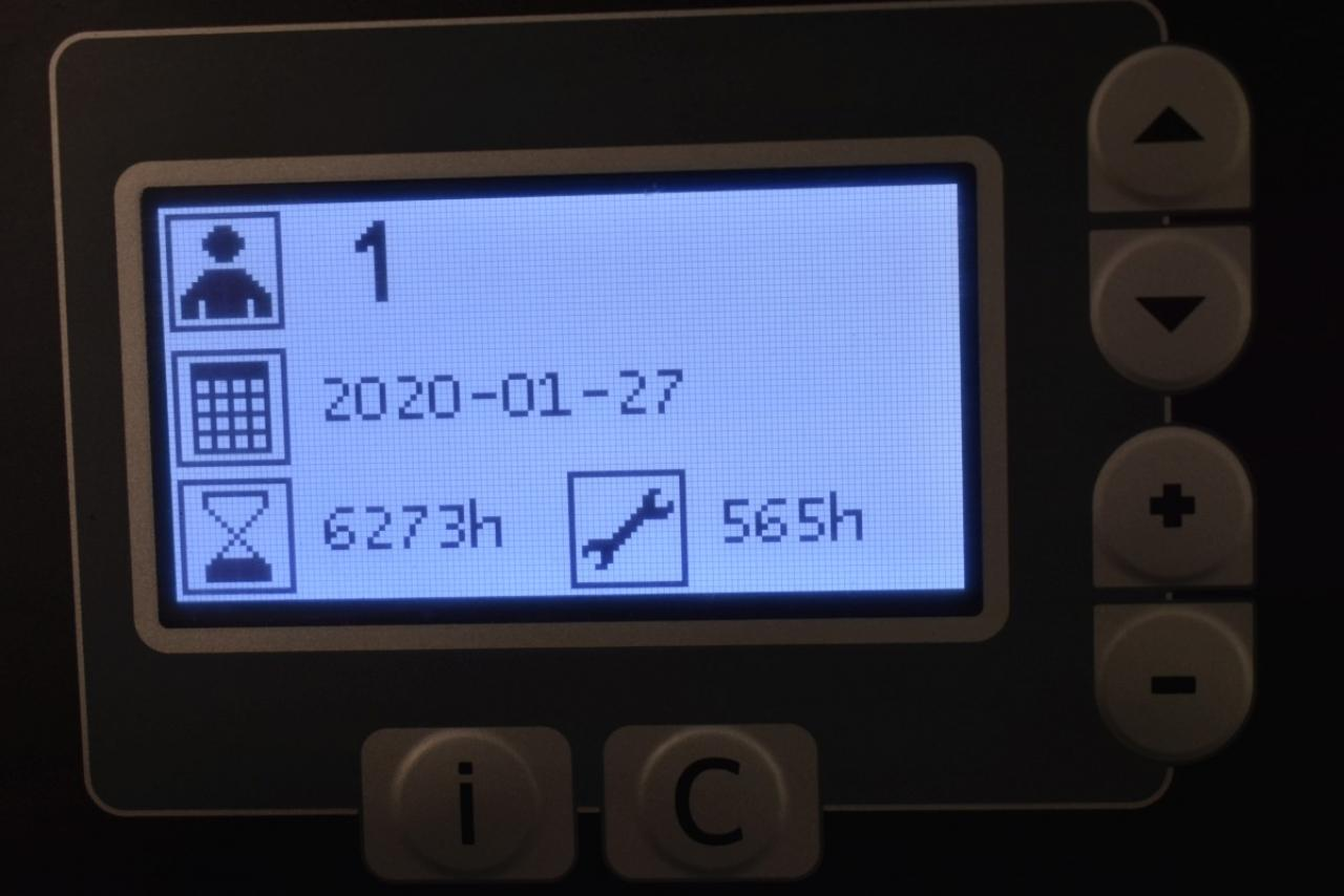 28915 BT RRE 160 - AKU, Retrak, 2014, BP, volný zdvih, Triplex, pouze 6273 mth