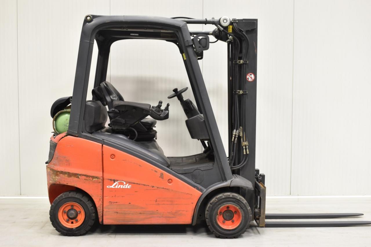 29144 LINDE H 16 T-01 - LPG, 2011, BP, volný zdvih, Triplex