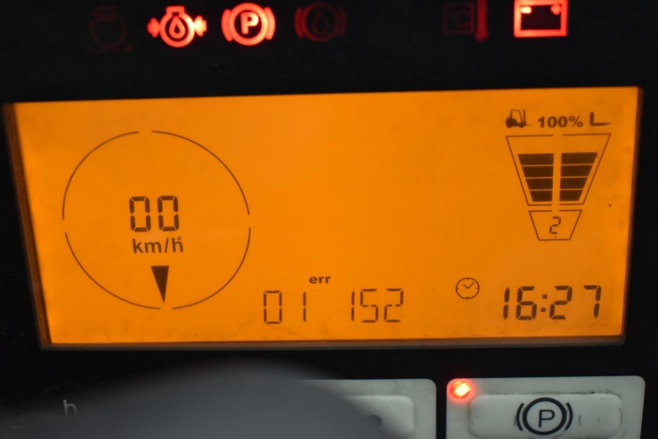 29333 JUNGHEINRICH TFG 425 S - LPG, 2009, polokabina, BP, volný zdvih