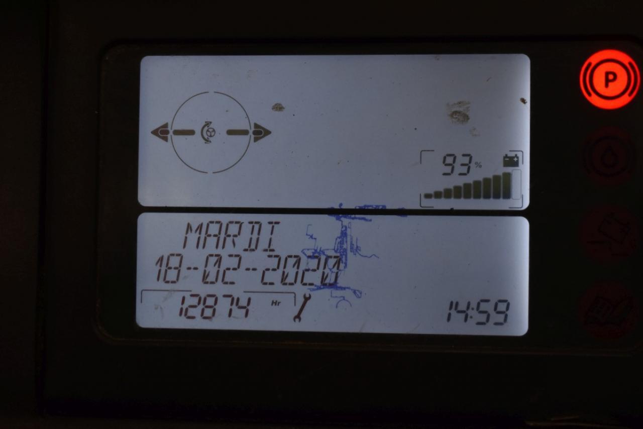 29403 LINDE R 14 S-12 - AKU, Retrak, 2011, BP, volný zdvih, Triplex