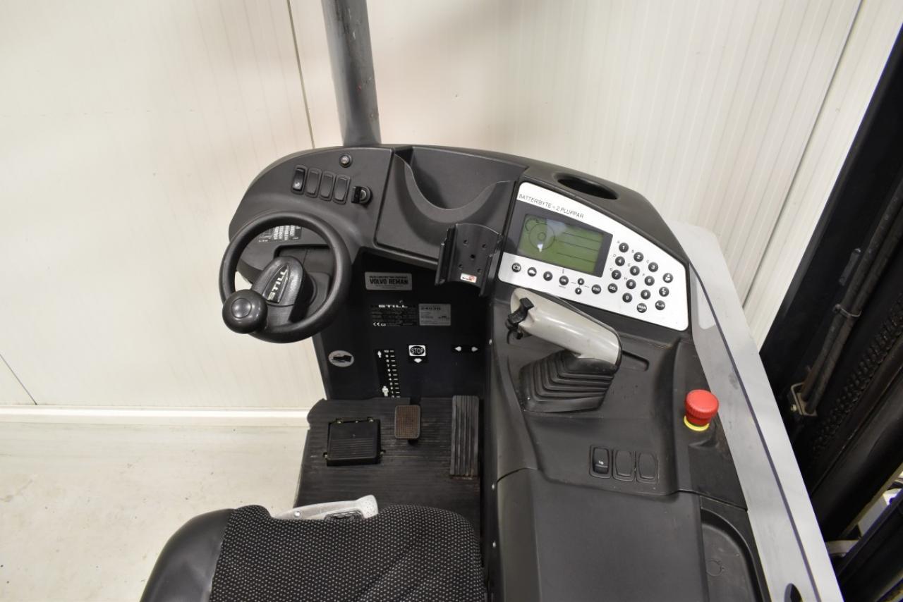 29411 STILL FM-X 17 - AKU, Retrak, 2013, BP+HSV, volný zdvih, Triplex, pouze 4656 mth