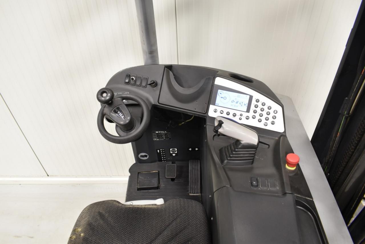 29413 STILL FM-X 17 - AKU, Retrak, 2011, BP+HSV, volný zdvih, Triplex