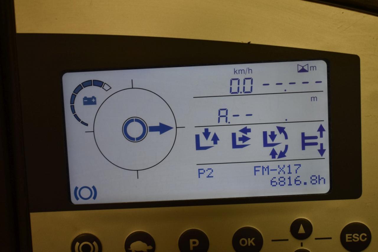 29415 STILL FM-X 17 - AKU, Retrak, 2013, BP+HSV, volný zdvih, Triplex, pouze 6816 mth