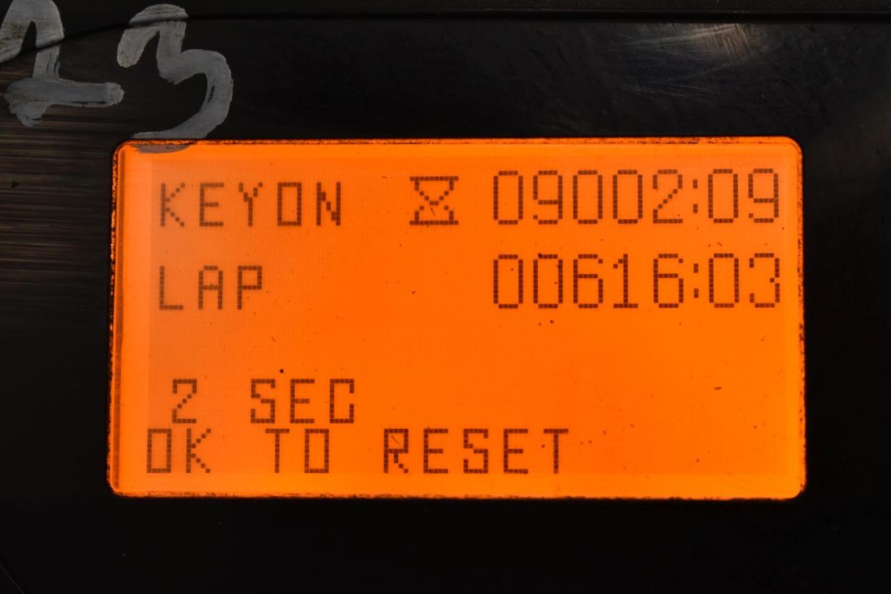 29442 TOYOTA 7FBEST13 - AKU, 2014, BP, volný zdvih, Triplex, pouze 2862 mth