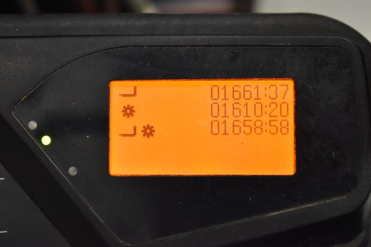29443 TOYOTA 7FBEST13 - AKU, 2014, BP, volný zdvih, Triplex, pouze 1658 mth