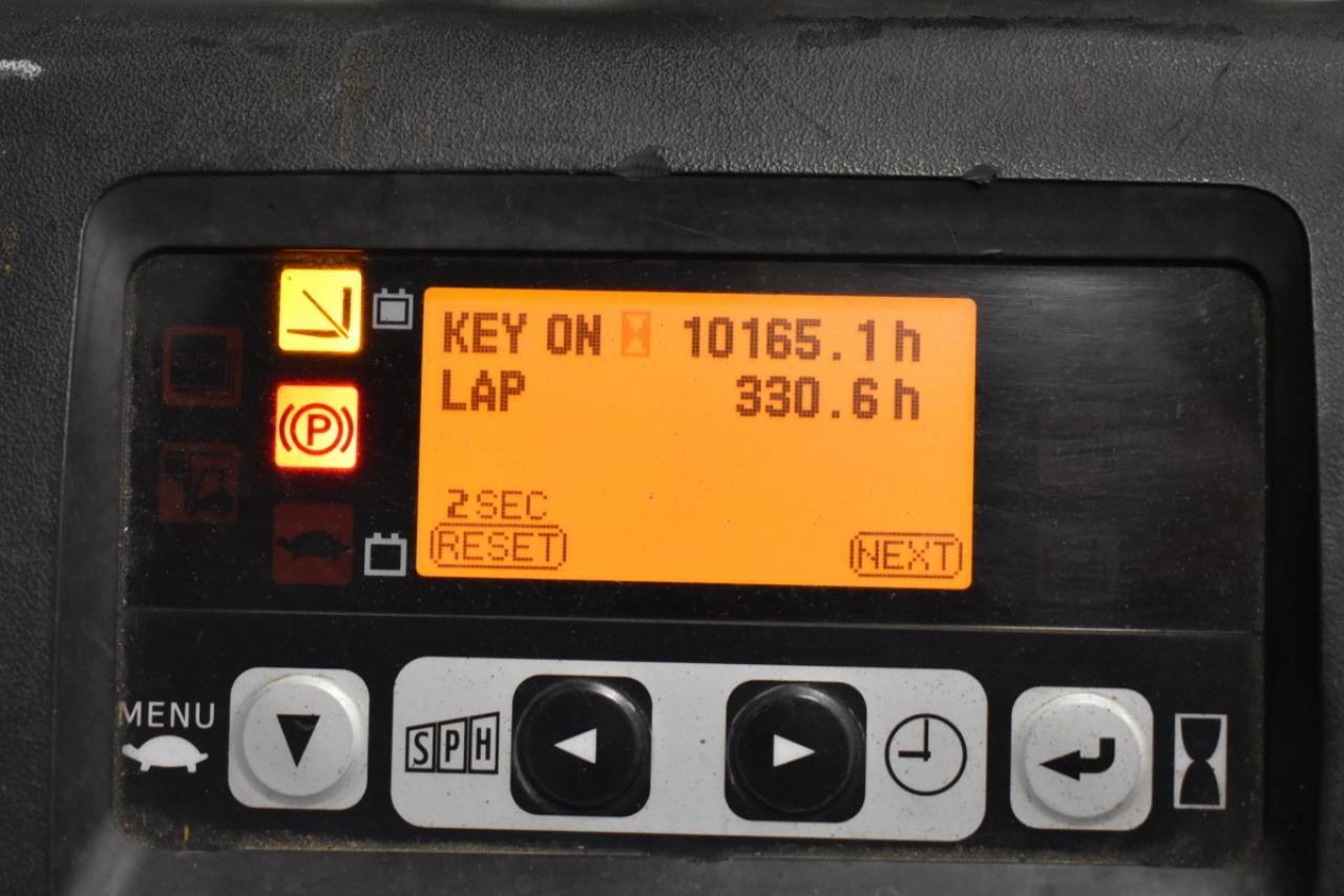 29457 TOYOTA 8FBET15 - AKU, 2014, BP, volný zdvih, pouze 5690 mth