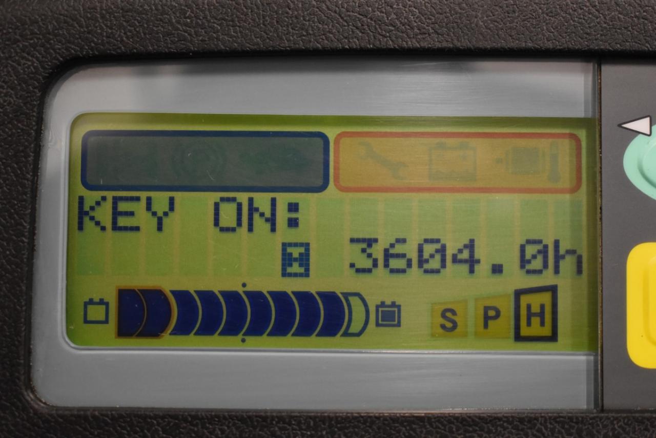 29471 TOYOTA 7FBMF25 - AKU, 2013, BP, volný zdvih, Triplex, pouze 3603 mth