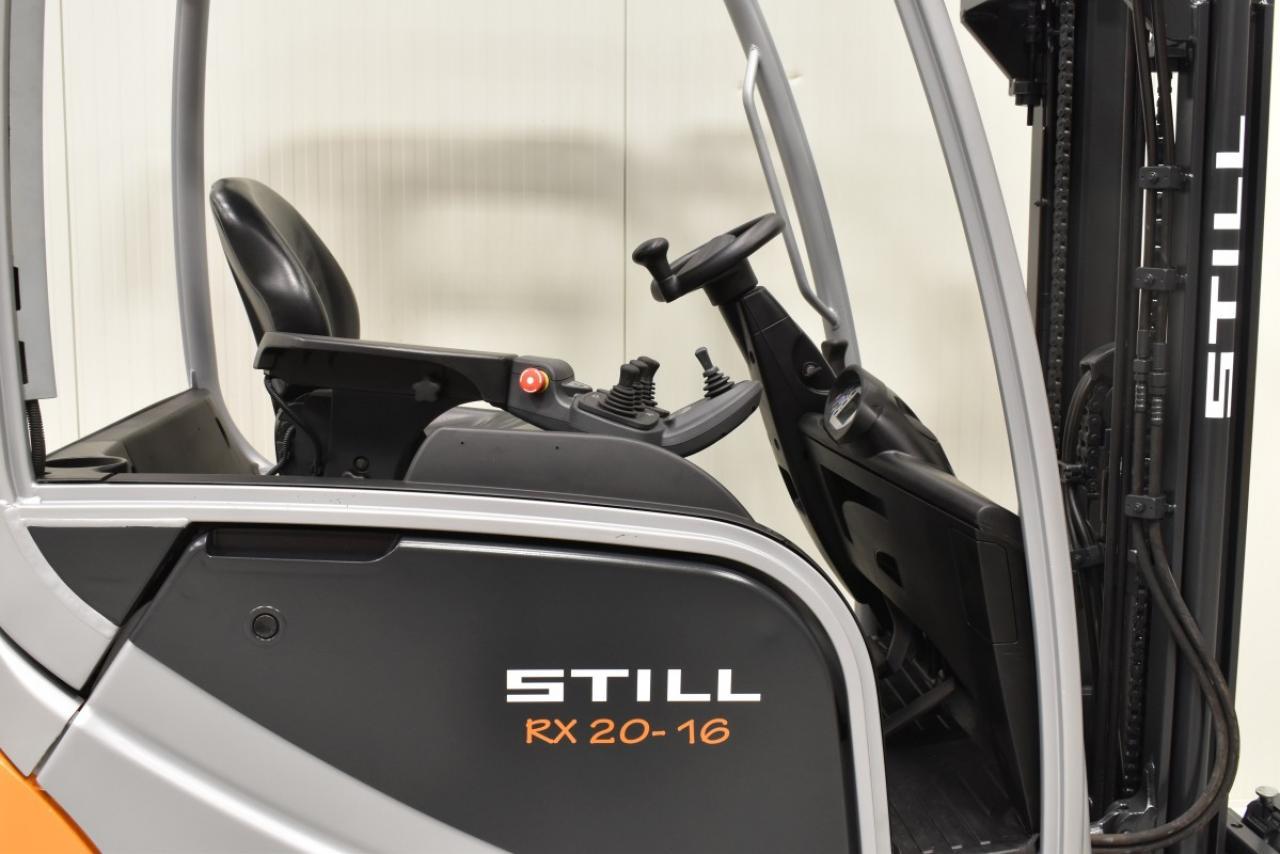 29504 STILL RX 20-16 - AKU, 2014, BP, volný zdvih, Triplex, pouze 6973 mth, BAT 2015