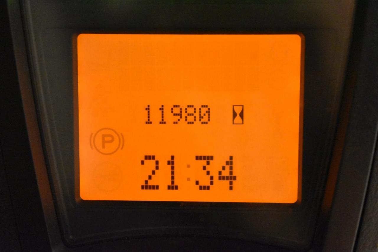29558 LINDE E 16 C-02 - AKU, 2014, BP, volný zdvih, Triplex