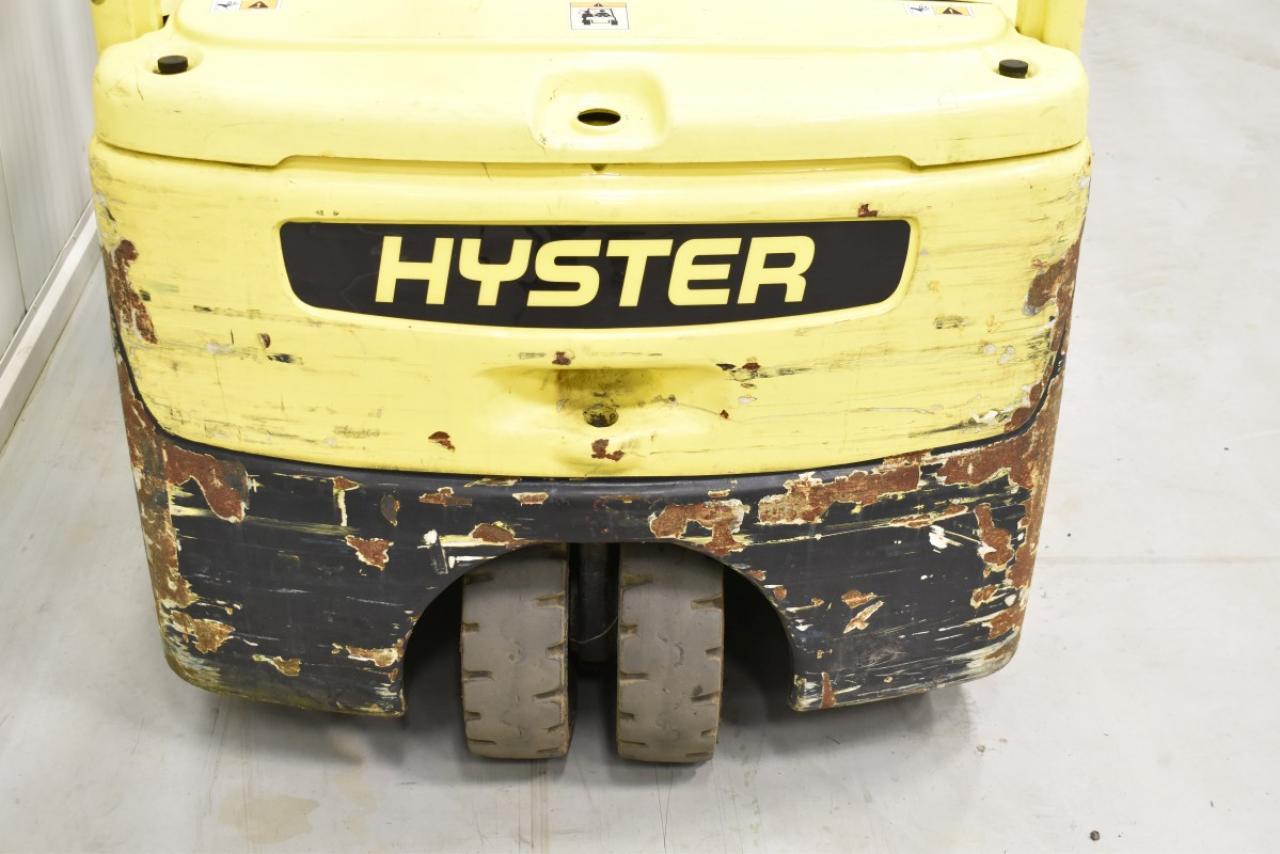 29605 HYSTER J 1.8 XNT - AKU, 2011, BP, volný zdvih, Triplex, pouze 2918 mth