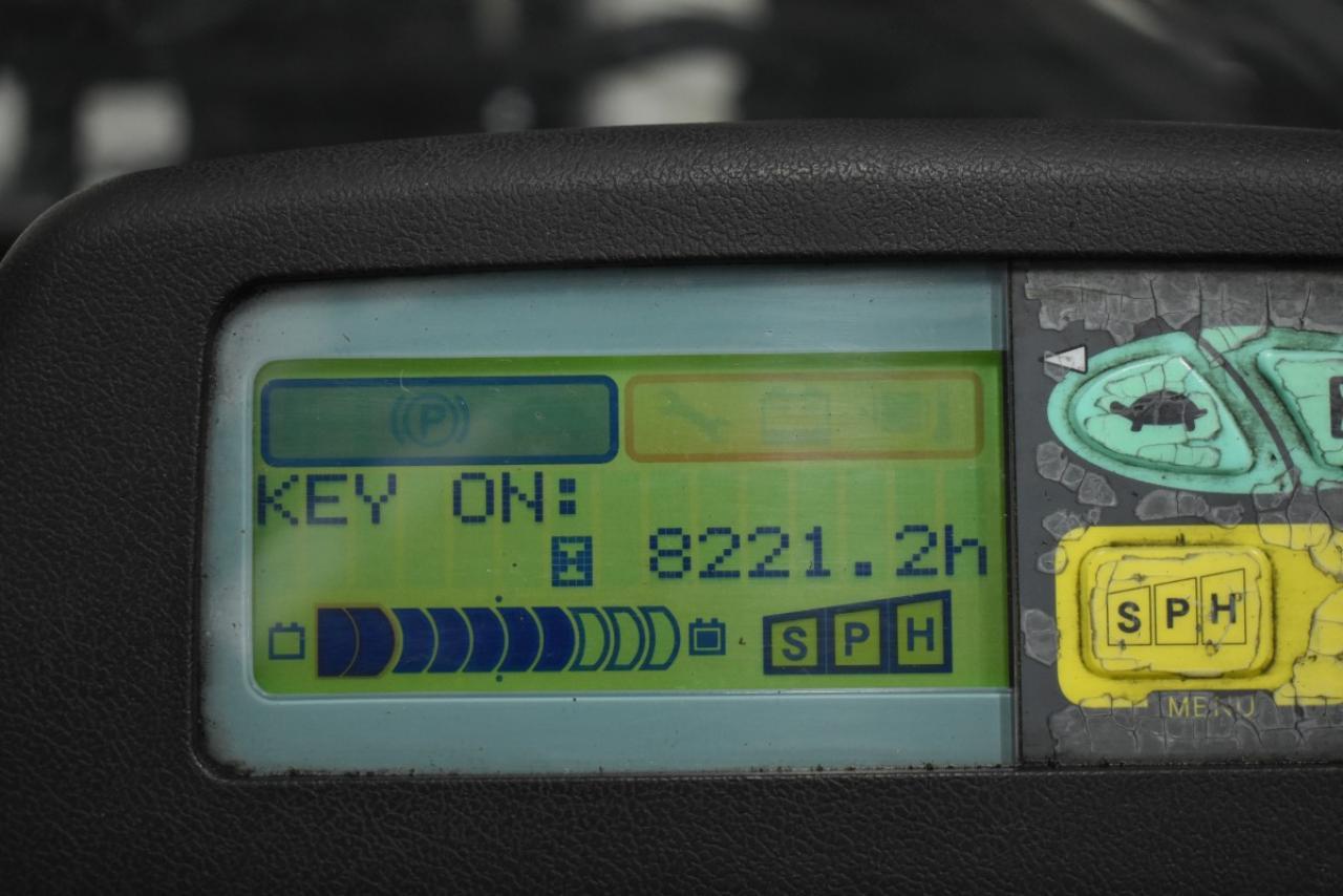 29648 TOYOTA 7FBMF25 - AKU, 2012, polokabina, volný zdvih, Triplex