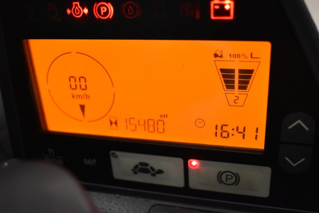 29710 JUNGHEINRICH TFG 430 S - LPG, 2011, Kabina, BP+HSV