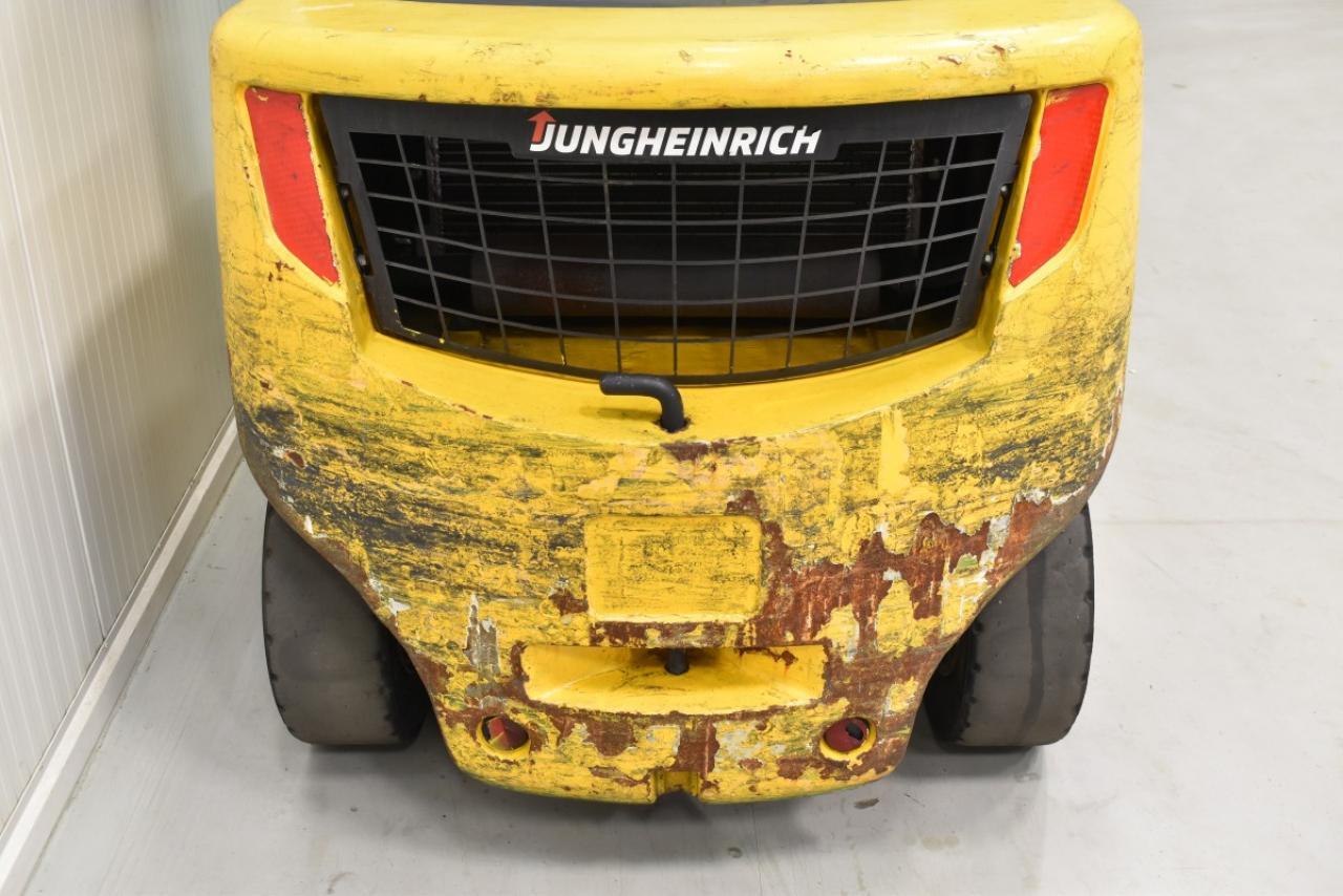 29738 JUNGHEINRICH DFG 435 S - Diesel, 2014, polokabina, BP