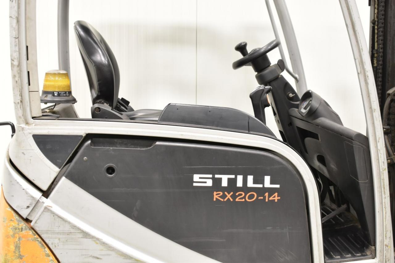 29781 STILL RX 20-14 - AKU, 2014, BP, volný zdvih, Triplex, pouze 6899 mth