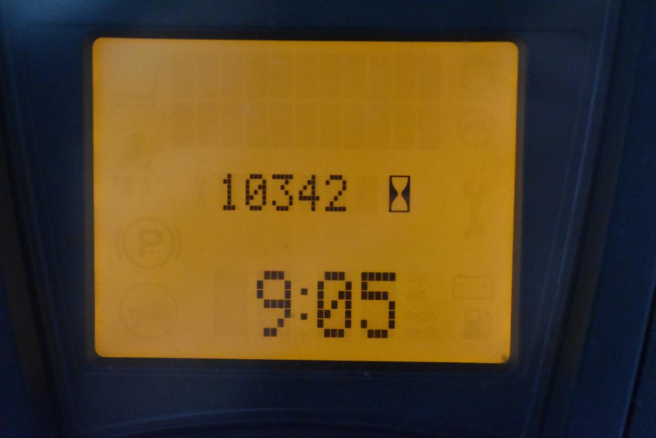 29857 LINDE E 25 L-01 - AKU, 2012, Kabina, BP, volný zdvih, Triplex