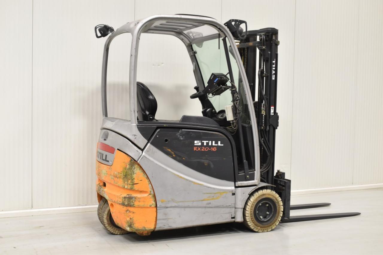 29871 STILL RX 20-16 - AKU, 2012, volný zdvih, Triplex,  BAT 2013
