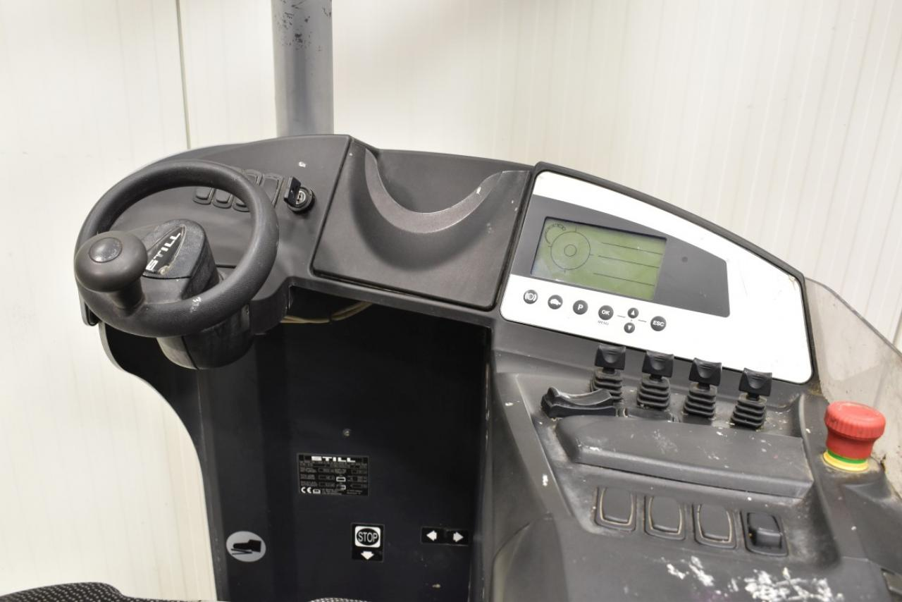 29955 STILL FM-X 10 - AKU, Retrak, 2010, BP, volný zdvih, Triplex, pouze 3179 mth