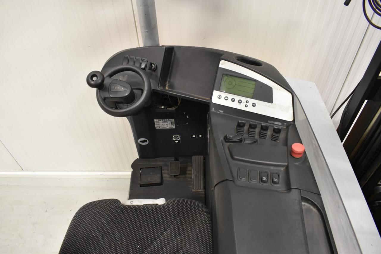30099 STILL FM-X 25 - AKU, Retrak, 2009, BP+HSV, Volný zdvih, Triplex