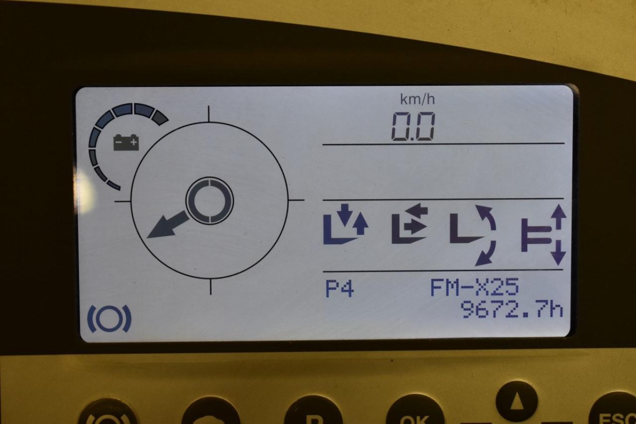 30099 STILL FM-X 25 - AKU, Retrak, 2009, BP+HNV, voľný zdvih, TRIPLEX