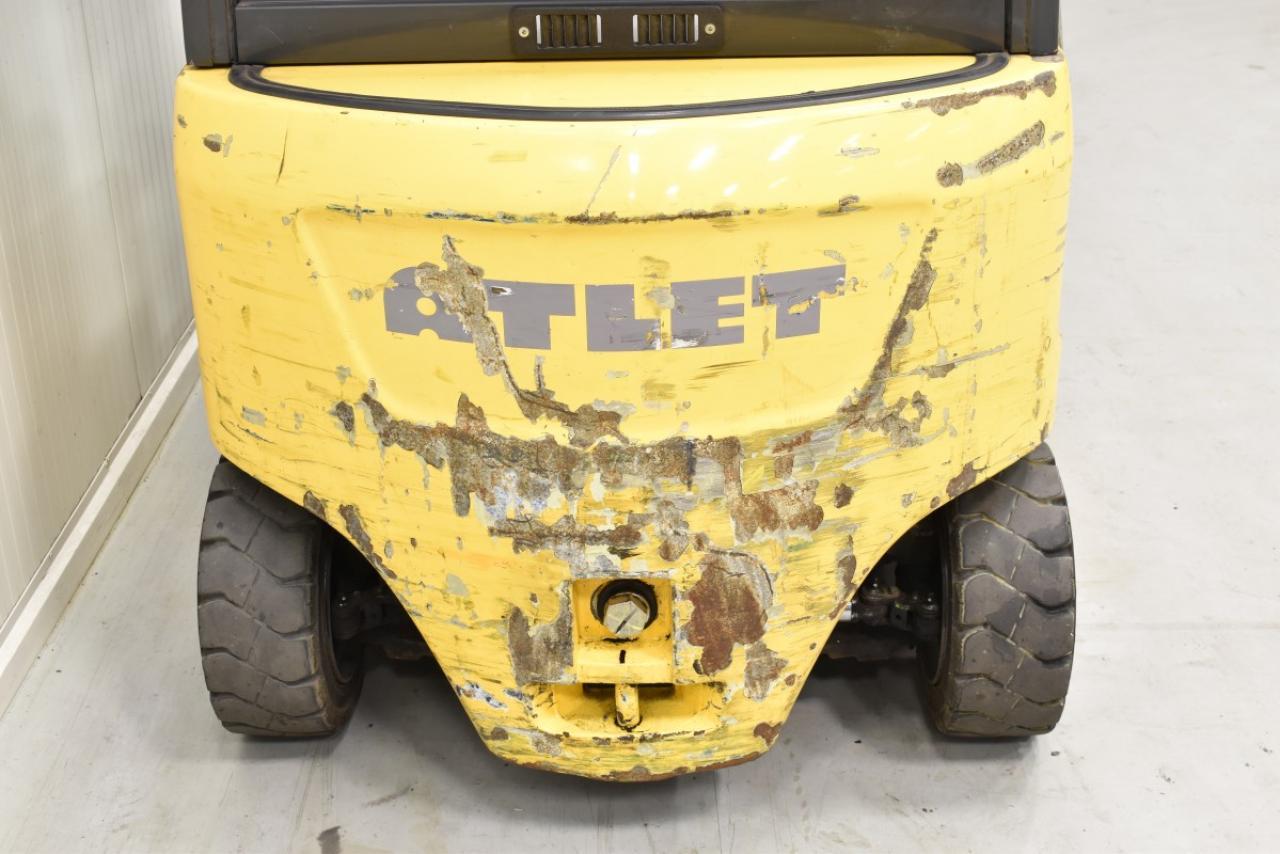 30133 ATLET JG1N1L16T - AKU, 2011, polokabina, BP, pouze 2419 mth