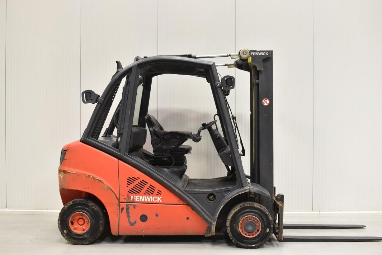30168 LINDE H 25 D - Diesel, 2008, BP, volný zdvih, Triplex