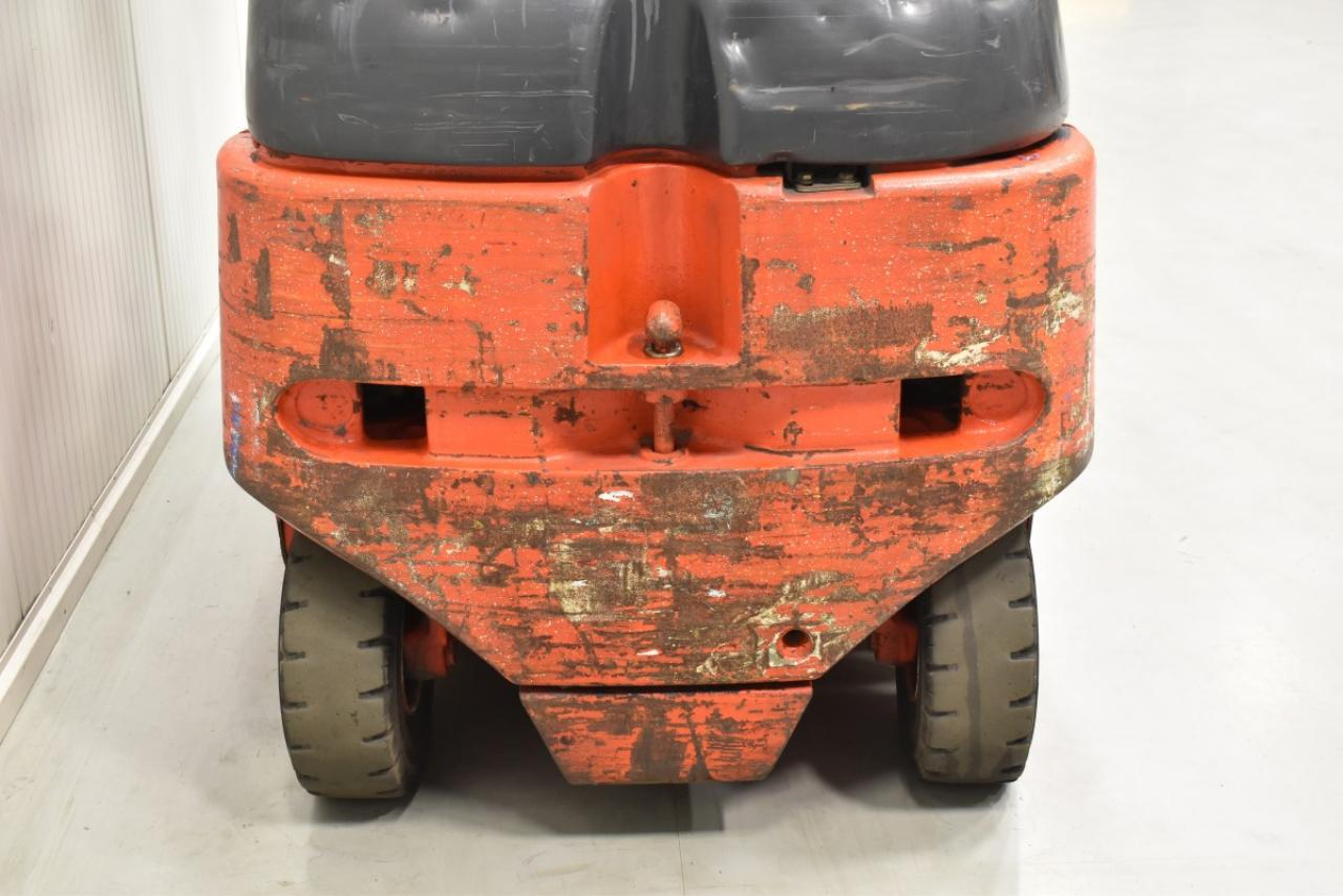 30206 LINDE E 30-02/600 - Battery, 2006, semi-cabin, SS, only 4946 hrs