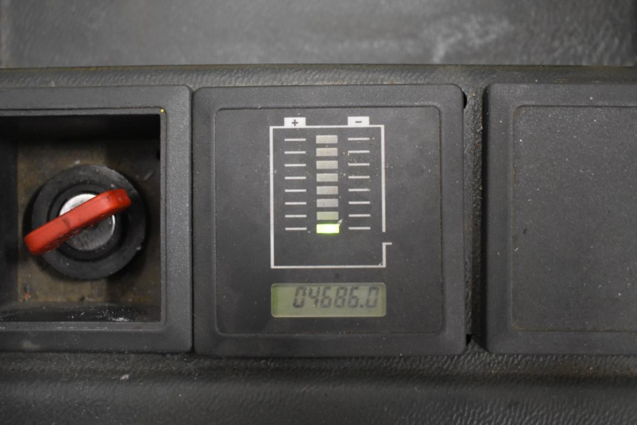 30222 JUNGHEINRICH ERC 14 - AKU, 2005, Volný zdvih, Triplex, pouze 4685 mth, BAT 2011