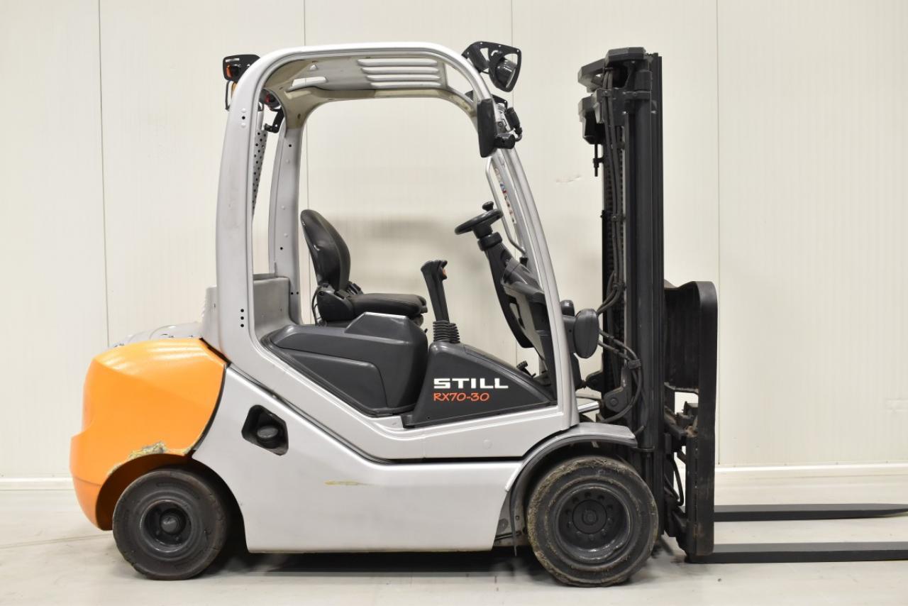 30229 STILL RX 70-30 - Diesel, 2012, BP, volný zdvih, Triplex