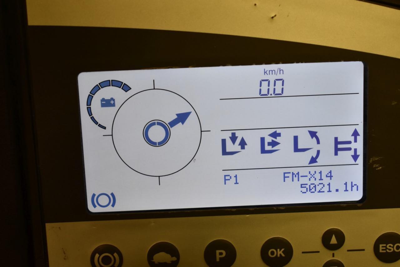 30331 STILL FM-X 14 - AKU, Retrak, 2012, BP, volný zdvih, Triplex, pouze 5020 mth