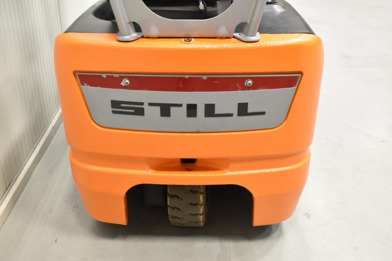 30410 STILL RX 50-13 - AKU, 2007, BP, volný zdvih, Triplex, pouze 5377 mth