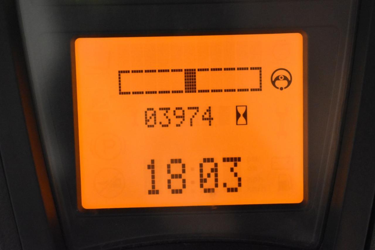 30439 LINDE E 16 L-01 - AKU, 2011, BP, volný zdvih, Triplex, pouze 3974 mth