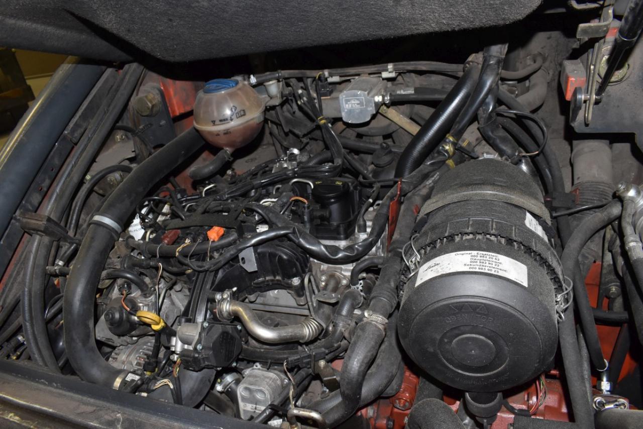 30453 LINDE H 45 D-02 - Diesel, 2014, polokabina, BP